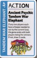 Adventure Time Fluxx Promo Card - Ancient Psychic Tandem War Elephant