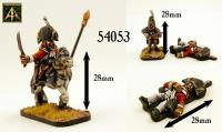 2nd Heavy Dragoons Color and Casualty