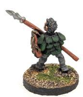 Dragonslayers - Woodsman w/Spear & Shield