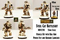 Steel Cat Battlesuit