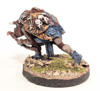 Orc Archer - Running, Bent w/Bow