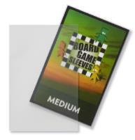 Board Game Card Sleeves - Non-Glare, Medium (50)