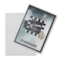 Board Game Card Sleeves - Non-Glare, Standard Size (50)