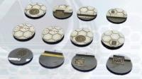 25mm Hex Bases - Round