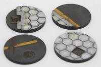 60mm Hex Bases - Round