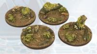 40mm Deep Forest Bases - Round