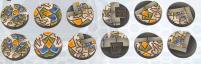 25mm Arabesque Bases - Round