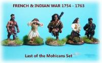 Last of the Mohicans Movie Characters