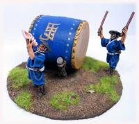 Ashigaru Taiko w/Drummer and Conch Player