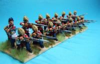 British Infantry Firing Unit