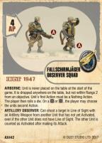 Luftwaffe Fallschirmjager Observer Squad
