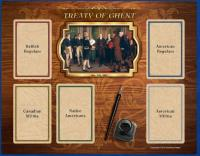 1812 The Invasion of Canada - Treaty of Ghent Board
