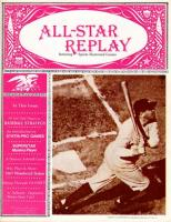 "Vol. 1, #3 ""Real Players in Baseball Strategy, 1967 Woodward Stakes, Paydirt"""