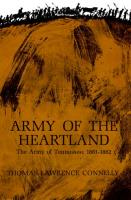 Army of the Heartland - The Army of Tennessee, 1861-1862