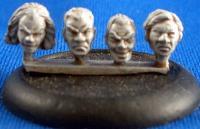 28mm Male Heads