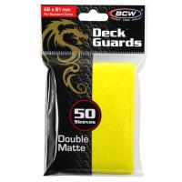 Double Matte Card Sleeves - Yellow (50)