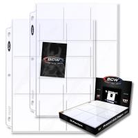 9-Pocket Protective Pages - Clear (100)