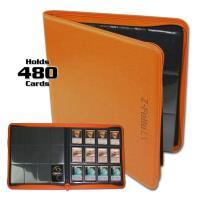 Z-Folio 12-Pocket LX Album - Orange