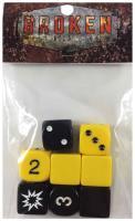 Broken Contract Dice Set - Yellow (8)