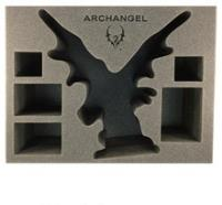 """5 1/2"""" Legion of Everblight - Archangel w/Wings Foam Tray"""