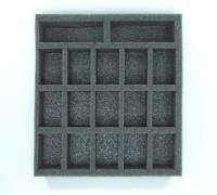 "1 1/2"" Warmachine/Hordes Small Troop Half Tray"