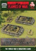 Gun Pits - Log Emplacement