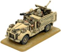 LRDG Chev Gun Truck