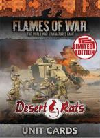 Desert Rats Unit Cards (Limited Edition)
