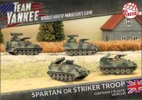 Spartan or Striker Troop