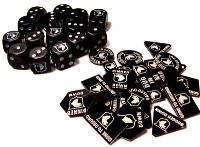 101st Airborne Screaming Eagles Dice & Token Set