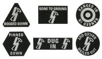 "12. SS-Panzerdivision ""Hitlerjugend"" Dice & Token Set"