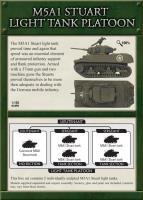 M5A1 Stuart Light Tank Platoon