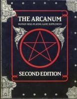 Arcanum, The (2nd Edition)