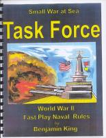 Task Force - WWII Fast Play Naval Rules