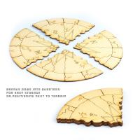 "Objective Areas - 6 pack (6"" Radius)"