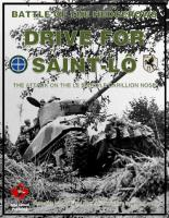 Battle of the Hedgerows - Drive For Saint Lo