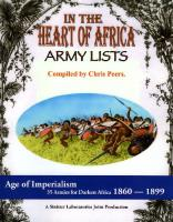 In the Heart of Africa - Army Lists (2nd Printing)