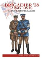 Brigadier '38 - Army Lists #1, The Field Armies