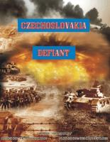 Czechoslovakia Defiant (Thick Counter Edition)