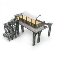 Elevated Rail Line - Station
