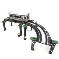Elevated Rail line - Curve