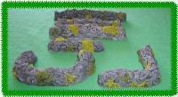 Assorted Stone Walls Set