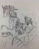 Battletech Armored Infantry Concept Sketch #1