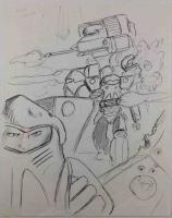 Battletech Armored Infantry Concept Sketch #2