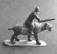 Barbarian Cavalry w/Bows on Saber Tooths (Half Pack)