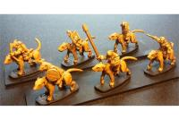 Cavalry w/Bows on Unarmored Ratweillers