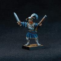 Landsknecht Officer w/Sword & Handgun