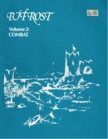 Volume #2 - Combat