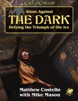 Alone Against the Dark (2nd Printing)