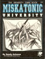 Miskatonic University - University Guide Book